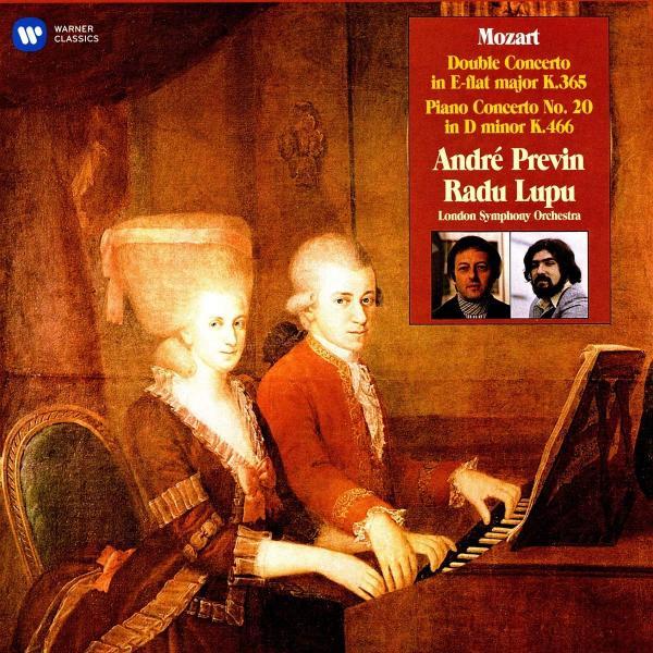 Mozart MozartAndre Previn - : Double Concerto, Piano Concerto No. 20 (2 Lp, 180 Gr) mozart mozart requiem 180 gr