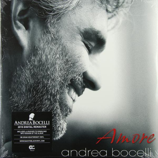Andrea Bocelli Andrea Bocelli - Amore (2 Lp, 180 Gr) андреа бочелли andrea bocelli the pop albums 14 lp
