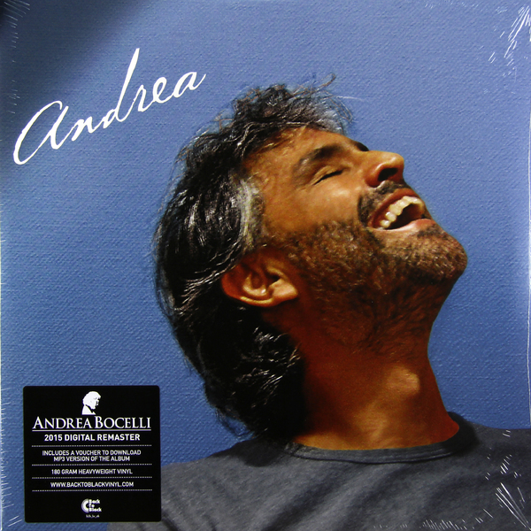 Andrea Bocelli Andrea Bocelli - Andrea (2 Lp, 180 Gr) андреа бочелли andrea bocelli concerto one night in central park