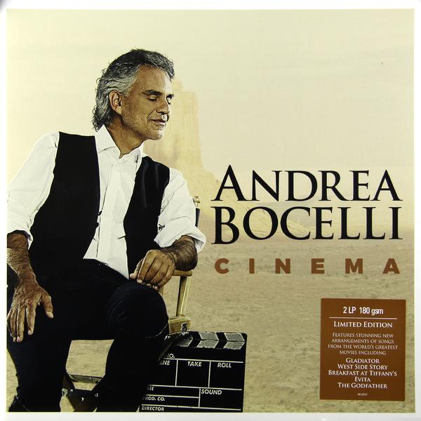 Andrea Bocelli Andrea Bocelli - Cinema (2 Lp, 180 Gr)