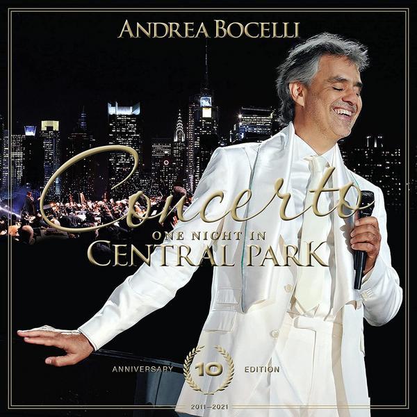 Andrea Bocelli - Concerto: One Night In Central Park 10th Anniversary (limited, Colour, 2 Lp, 180 Gr)