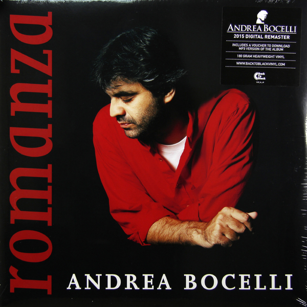 Andrea Bocelli - Romanza (2 LP) от Audiomania