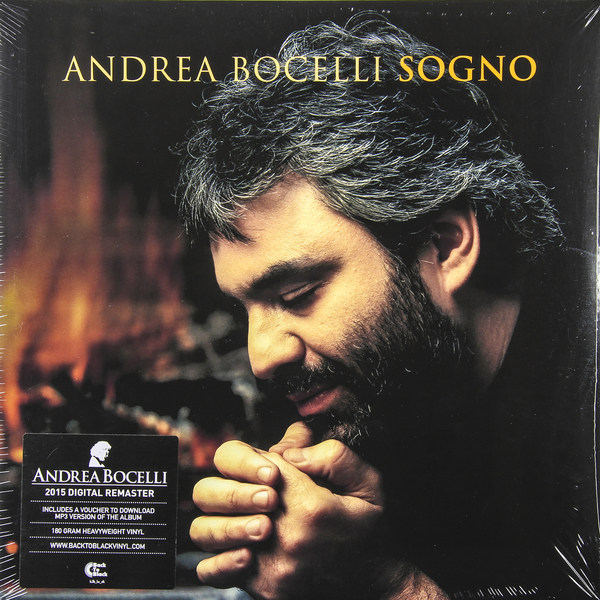 Andrea Bocelli Andrea Bocelli - Sogno (2 Lp, 180 Gr) ten years after ten years after undead expanded 2 lp 180 gr