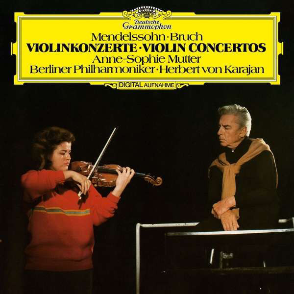 Anne-sophie Mutter Anne-sophie Mutter - Mendelssohn: Violin Concerto, Bruch: Violin Concerto No.1 cd диск mutter anne sophie karajan herbert van the four seasons 1cd