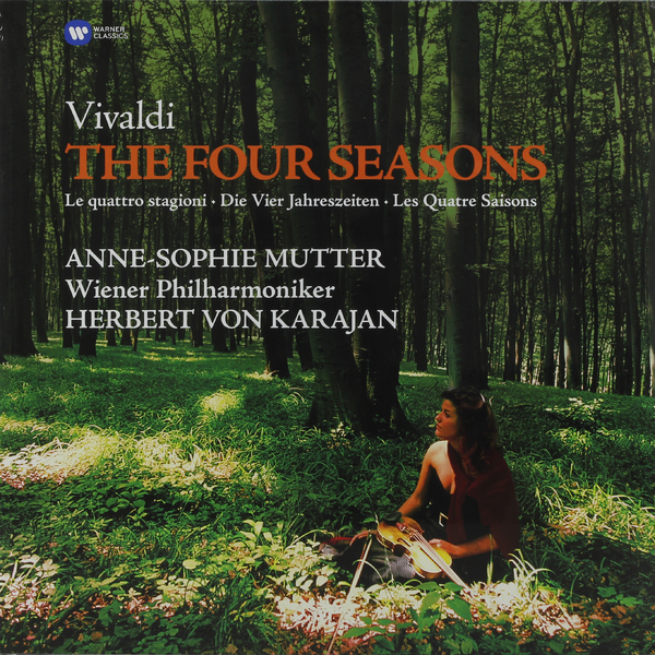 Vivaldi VivaldiAnne-sophie Mutter - : The Four Seasons cd диск mutter anne sophie karajan herbert van the four seasons 1cd
