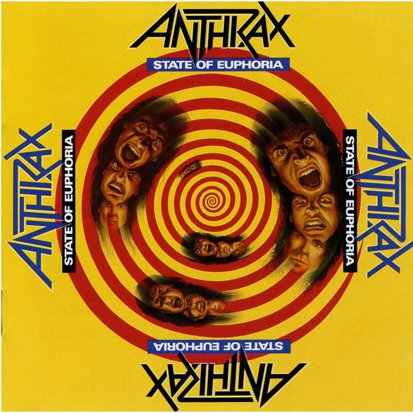 Anthrax Anthrax - State Of Euphoria (2 LP) цена и фото