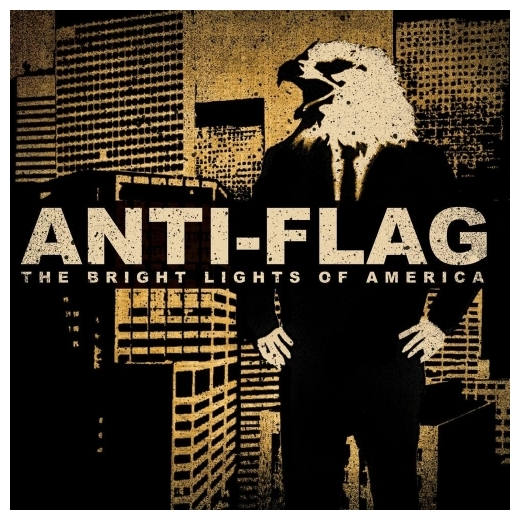 Anti-flag Anti-flag - Bright Lights Of America (2 Lp, 180 Gr) flag of us