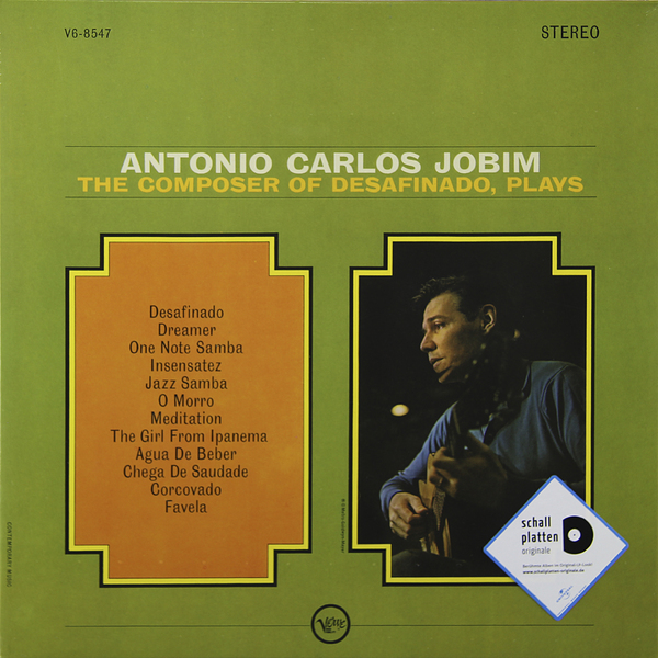 все цены на Antonio Carlos Jobim Antonio Carlos Jobim - Composer Of Desafinado