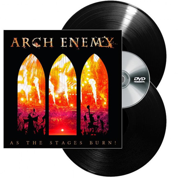 Arch Enemy Arch Enemy - As The Stages Burn! (2 Lp+dvd) across enemy seas