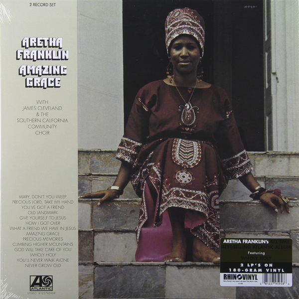 Aretha Franklin Aretha Franklin - Amazing Grace (2 LP) amazing grace cd