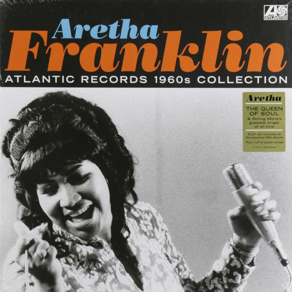 Aretha Franklin Aretha Franklin - Atlantic Records 1960s Collection (6 LP) franklin
