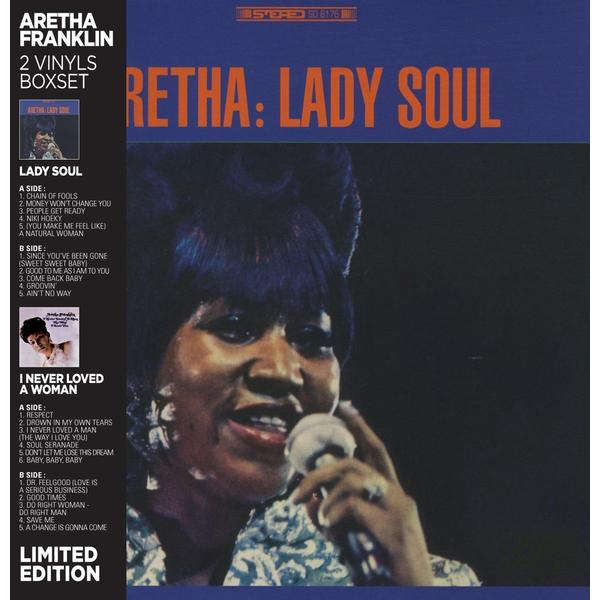Aretha Franklin Aretha Franklin - Lady Soul / I Never Loved A Woman (2 LP) soul i d