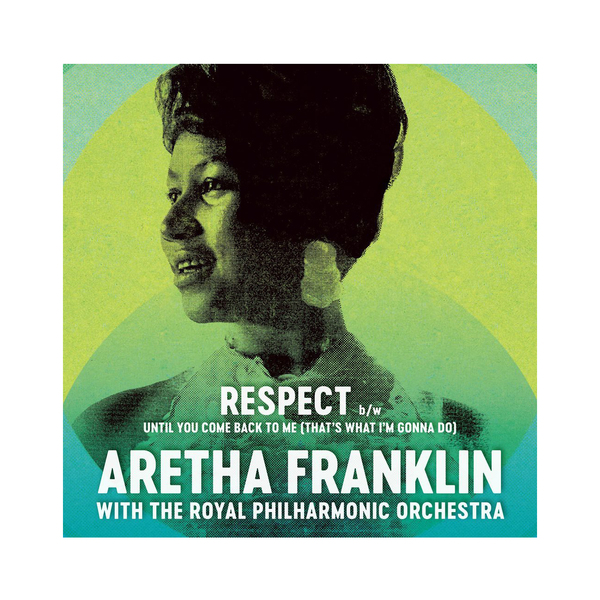 Фото - Aretha Franklin Aretha Franklin Royal Philharmonic Orchestra - Respect / Until You Come Back To Me (that's What I'm Gonna Do) (7 ) contrast lace keyhole back blouse