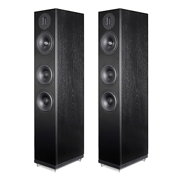 Напольная акустика Arslab Classic 3.5 SE Black Ash полочная акустика arslab classic 1 5 high gloss white