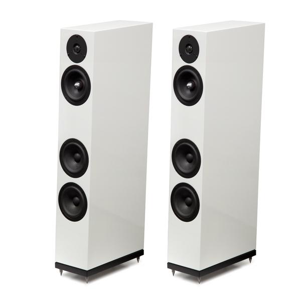Напольная акустика Arslab Emotion 3 SE High Gloss White акустика центрального канала piega classic center large macassar high gloss
