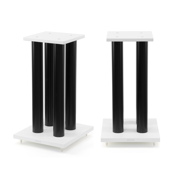 Стойка для акустики Arslab серии BIG White/Black (уценённый товар) напольная акустика arslab classic 2 high gloss black уценённый товар