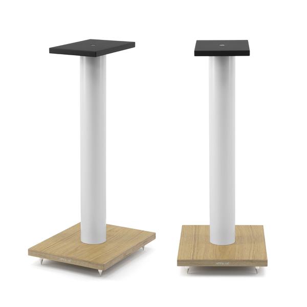 Фото - Стойка для акустики Arslab ST6 White Tube/Wood стойка для акустики arslab st7 white tube white