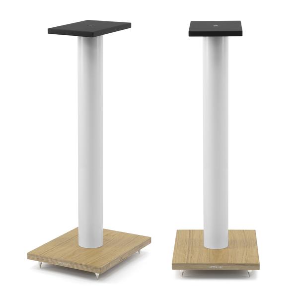 Стойка для акустики Arslab ST7 White Tube/Wood стойка для акустики arslab big white