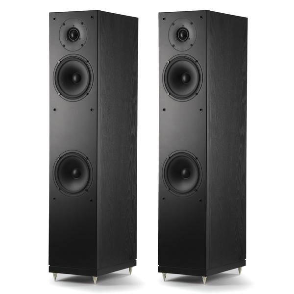 Напольная акустика Arslab Studio 20 Black Ash акустическая система центрального канала heco music style center 2 black black
