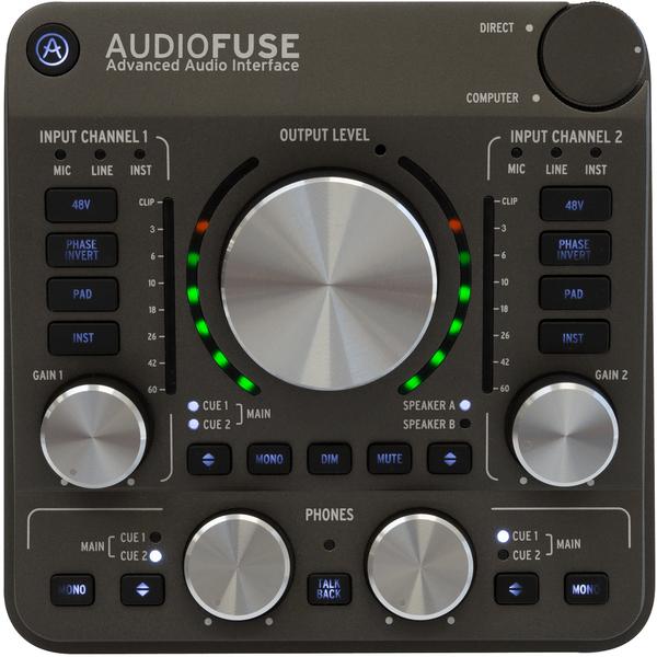 Внешняя студийная звуковая карта Arturia Audiofuse Space Gray внешняя студийная звуковая карта behringer fca1616