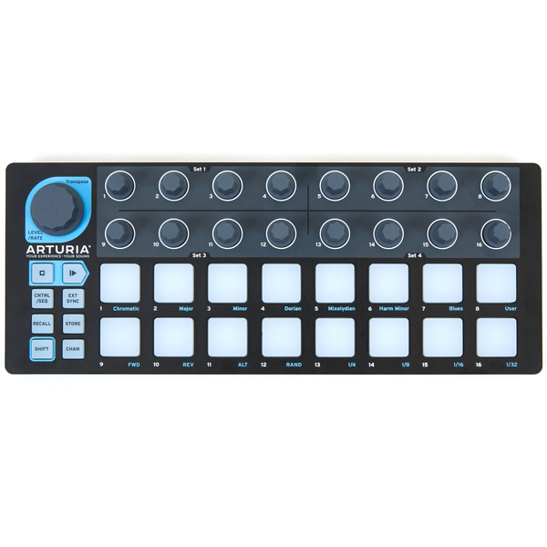 MIDI-контроллер Arturia BeatStep Black Edition