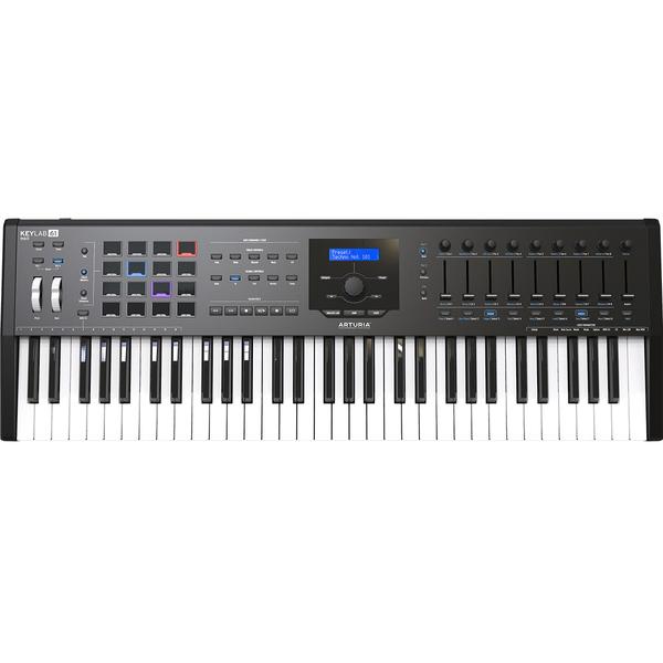 MIDI-клавиатура Arturia KeyLab 61 mkII Black