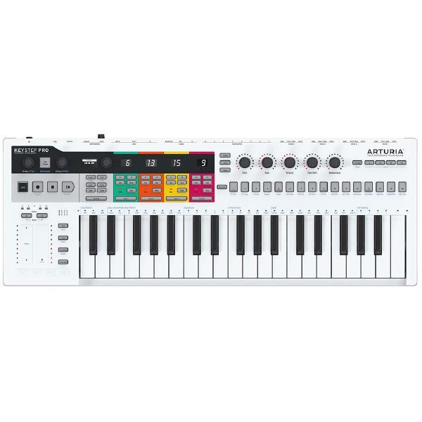 MIDI-клавиатура Arturia KeyStep Pro White