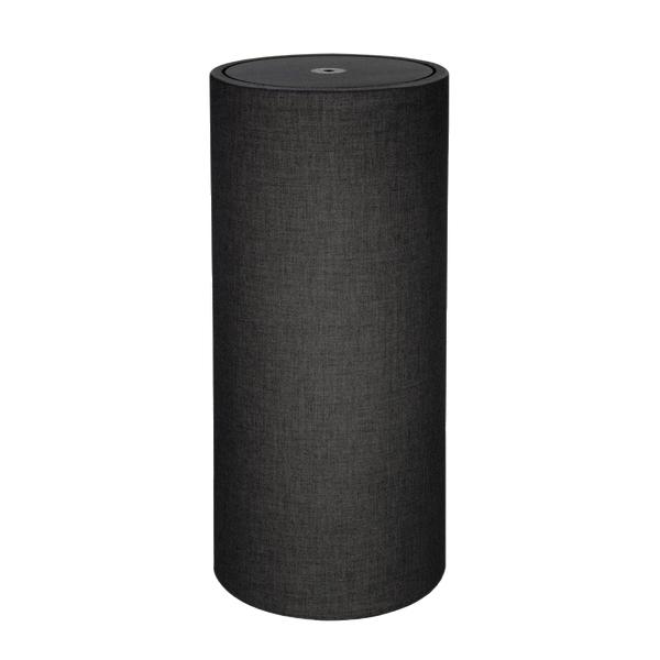 Панель для акустической обработки ASC Original TubeTrap Full-Round 16 x 3' Black diniho fashion lady s pu leather band round dial quartz waterproof wrist watch black 1 x lr626