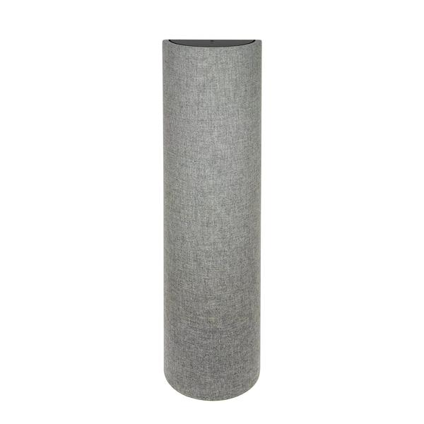 Панель для акустической обработки ASC Original TubeTrap Half-Round 13 x 4' Grey Mix pink round neck half sleeves colorblock shirt dress