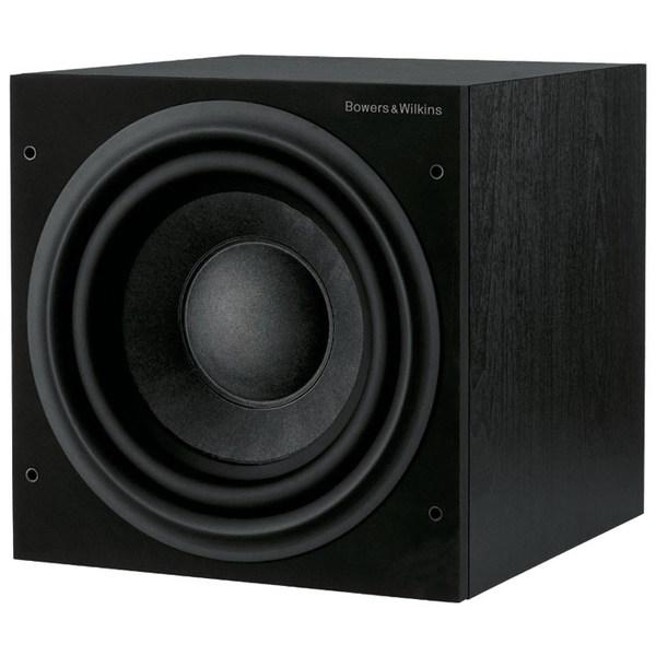 Активный сабвуфер B&W ASW610 Black Ash акустика центрального канала asw opus с 14 light oak eggshell black