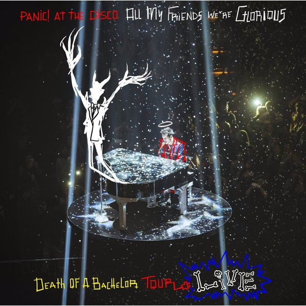Panic! At The Disco Panic! At The Disco - All My Friends, We're Glorious: Death Of A Bachelor Tour Live (2 LP) panic at the disco panic at the disco a fever you can t sweat out