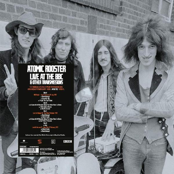 Atomic Rooster Atomic Rooster - On Air: Live At The Bbc (2 LP) недорго, оригинальная цена