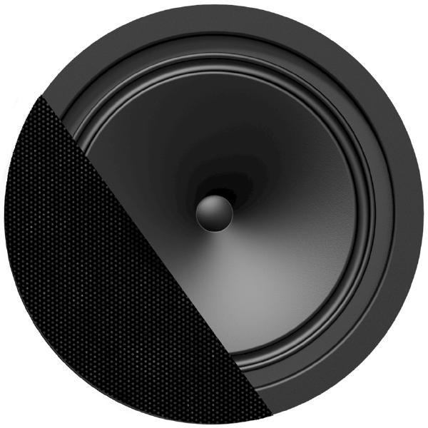 Встраиваемая акустика трансформаторная Audac CENA812 Black