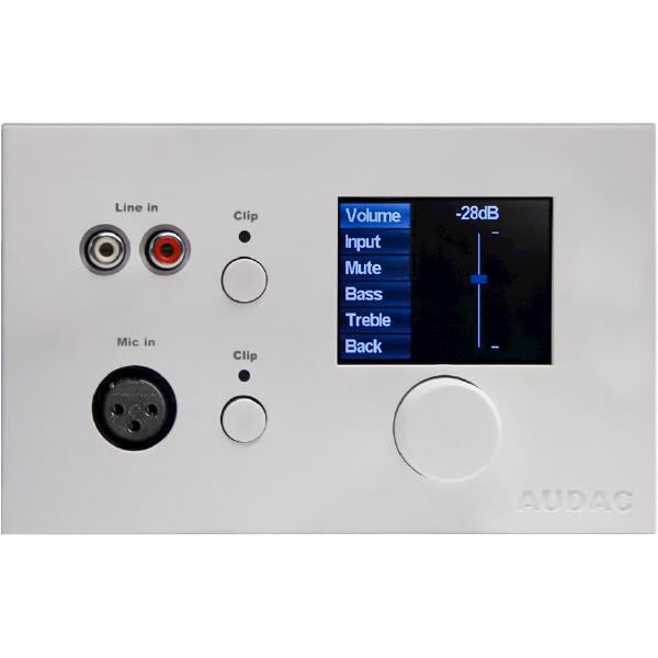 Панель управления Audac DW5066 White