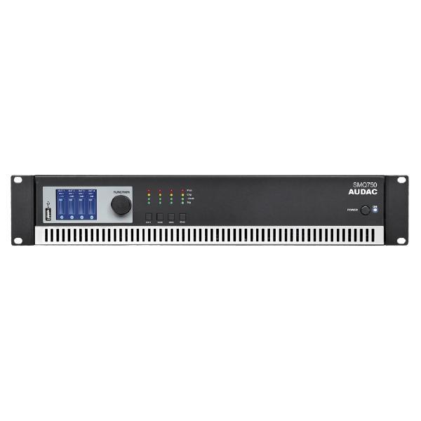 Профессиональный усилитель мощности Audac SMQ750