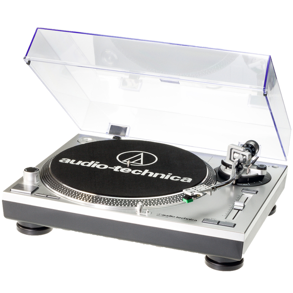 Виниловый проигрыватель Audio-Technica AT-LP120 USB HS Silver fx audio d802 remote control usb optical coaxial input hifi home audio pure digital amplifier 24bit 192khz without power adapter