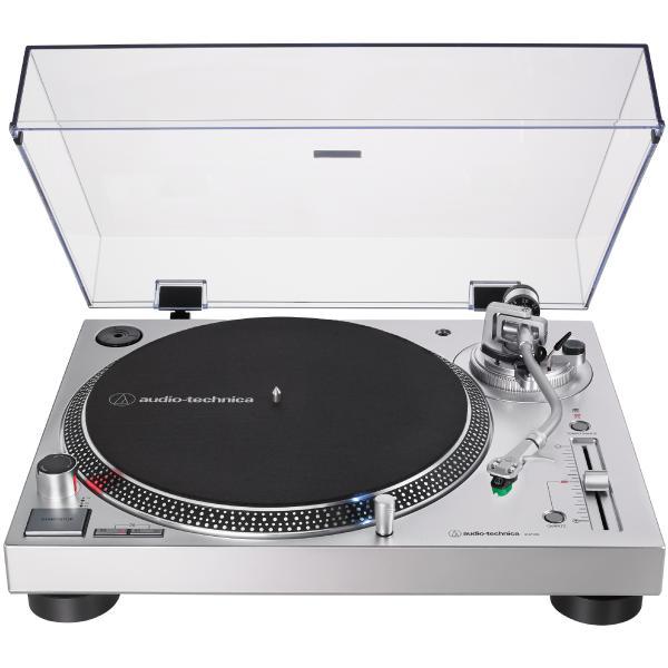 Виниловый проигрыватель Audio-Technica AT-LP120X USB Silver