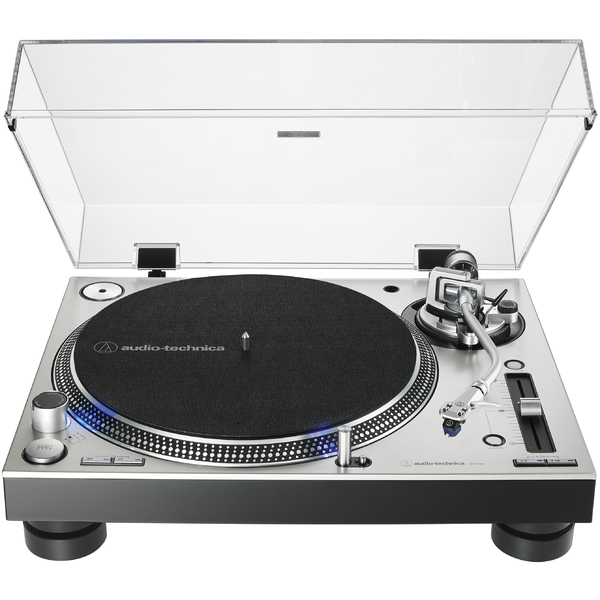 Виниловый проигрыватель Audio-Technica AT-LP140XP Silver проигрыватель виниловых дисков audio technica at lp140xpsve