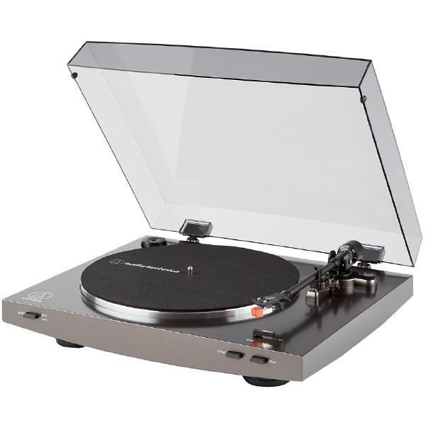 Виниловый проигрыватель Audio-Technica AT-LP2X Gray