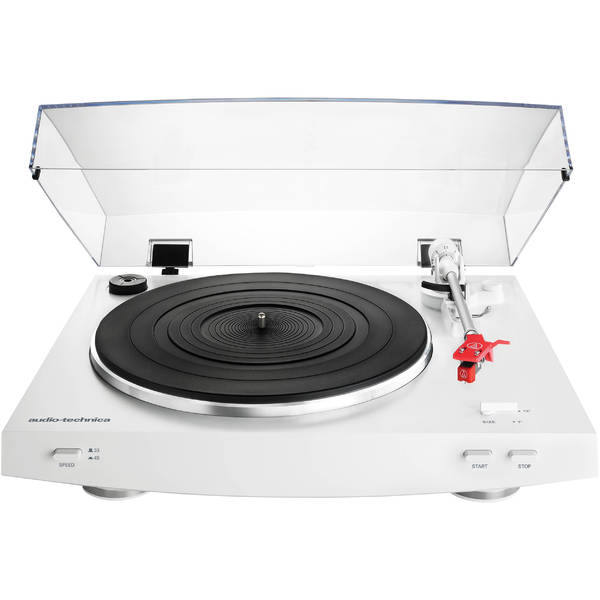 цена на Виниловый проигрыватель Audio-Technica AT-LP3 White