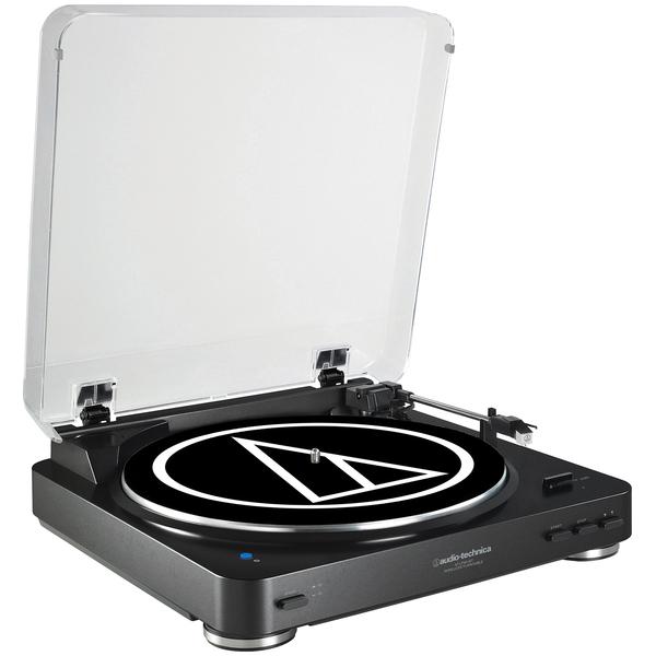 цена на Виниловый проигрыватель Audio-Technica AT-LP60BT Black