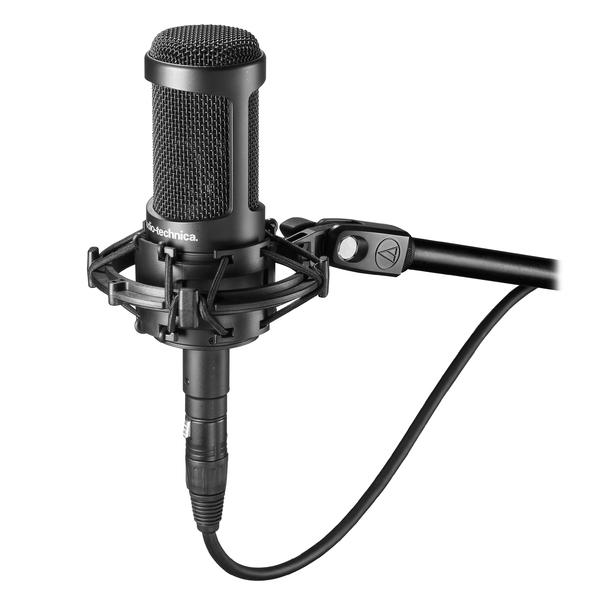 Студийный микрофон Audio-Technica AT2035 студийный микрофон shure ksm32 cg