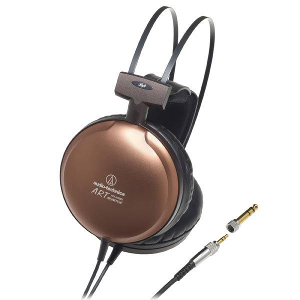 Охватывающие наушники Audio-Technica ATH-A1000X Gold охватывающие наушники audio technica ath m50x white