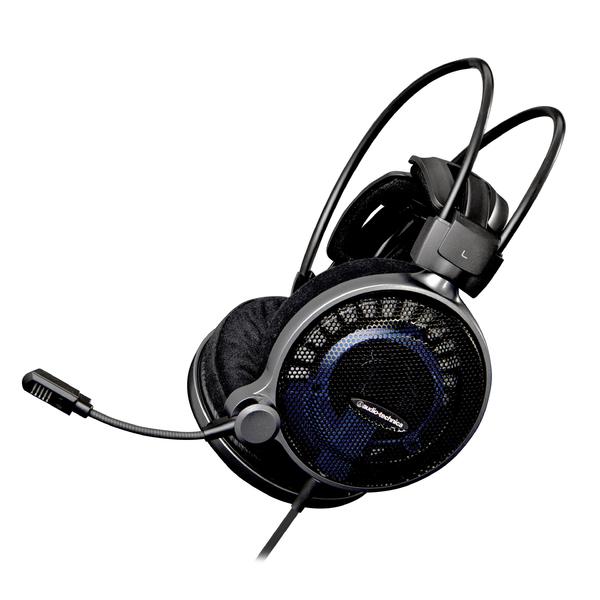 Фото - Охватывающие наушники Audio-Technica Игровые наушники с микрофоном ATH-ADG1X Black наушники nakatomi hp t50v black