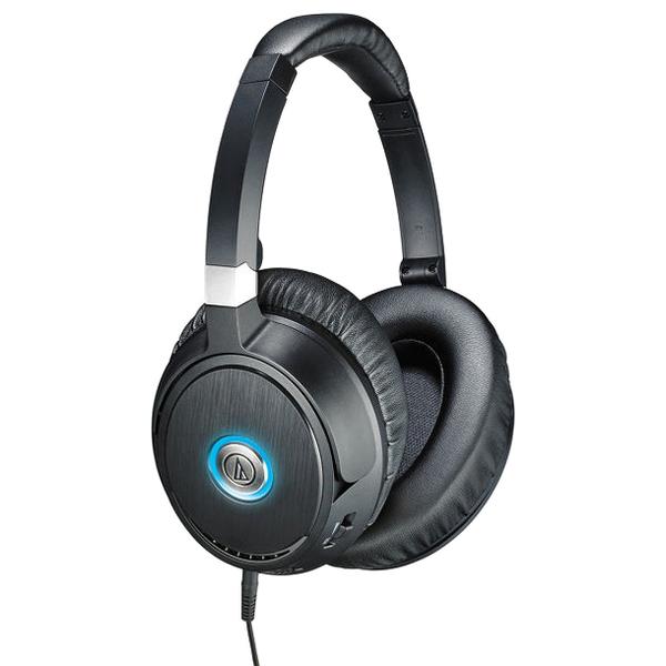 Охватывающие наушники Audio-Technica ATH-ANC70 Black technica audio technica атн ckr70is провод с пшеницы наушники вкладыши hifi синий