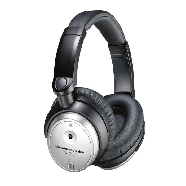 Охватывающие наушники Audio-Technica ATH-ANC7b SVIS Silver/Black наушники audio technica ath pro5mk3 black