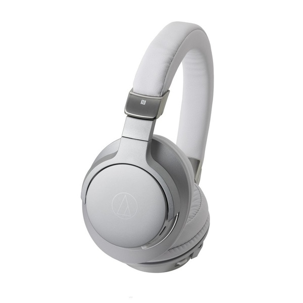 Беспроводные наушники Audio-Technica ATH-AR5BT Silver охватывающие наушники audio technica ath sr9 silver black