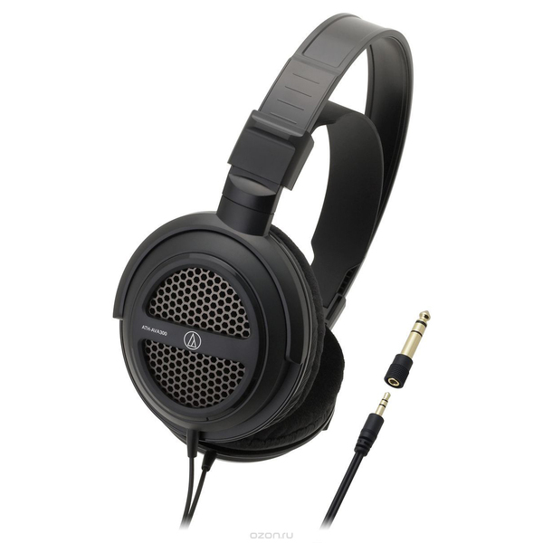 Охватывающие наушники Audio-Technica ATH-AVA300 Black наушники audio technica ath pro5mk3 black