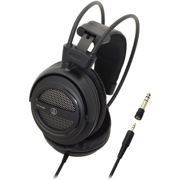 Охватывающие наушники Audio-Technica ATH-AVA400 Black охватывающие наушники audio technica ath ad500x black