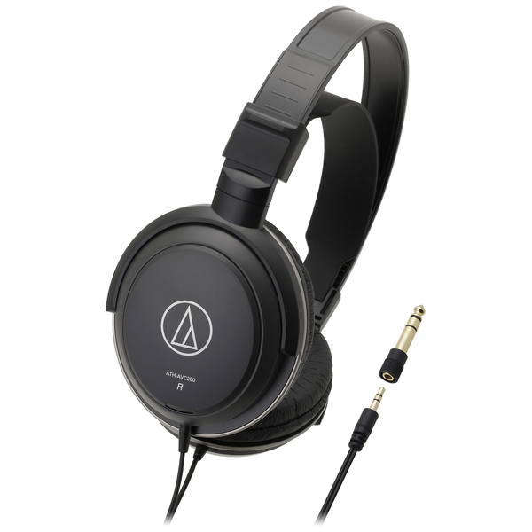 Охватывающие наушники Audio-Technica ATH-AVC200 Black наушники audio technica ath pro5mk3 black